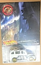 Hot Wheels School Busted Star Wars real Rider White  Limited  Hot Wheels... - $84.07