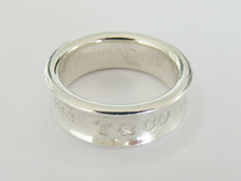 TIFFANY & CO Sterling Silver 1837 Ring Size 6.5 - $101.80