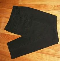 GLORIA VANDERBILT AMANDA Black Denium Jeans sz 6 - $17.82