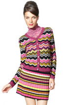 Missoni Target Passione Zig Zag Cardigan Sweater Medium RARE NEW W TAGS - $84.99