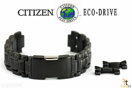 Citizen Eco-Drive BL8098-50E 22mm Black / Gray Tone Stainless Steel Watch Band  - $259.95