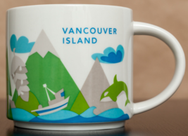 Starbucks Vancouver Island Canada You Are Here Collection Coffee Mug NEW IN BOX - $55.33