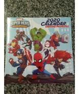 NEW! Marvel Avengers Super Hero Adventures 2020 Wall Calendar 12 month 1... - $4.94
