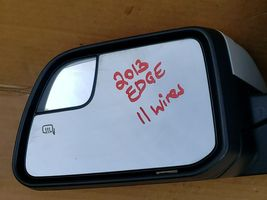 11-14 Ford Edge SideView Side View Heated Door Wing Mirror Driver Left LH 11wire image 7