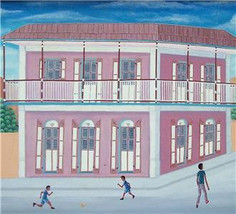 Original Pierre Antoine Cap Haitien, Haiti Art Painting in the style of ... - $799.99