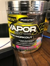 Muscletech - Vapor X5 Next Gen Pre Workout - COTTON CANDY 30 SERVINGS Ex... - $15.83