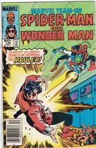Marvel Team-Up Comic Book Spider-Man And Wonder-Man #136 Marvel, Near Mint - $4.00
