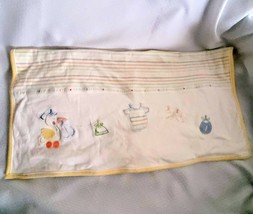 Little Me Yellow Stripe Sweet Lil' Bundle Cotton Baby Blanket Stork Cotton - $24.71