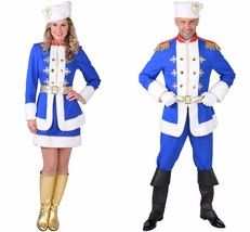 Blue Russian Cossack Costume - S-XXL , Winter / Soldier   - $85.66