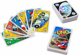 Mattel Games UNO Mario Kart Card Game with 112 Cards & Instructions - $16.99