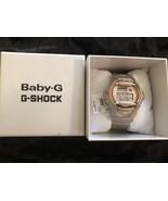 Baby-G Women's Digital Beige Resin Strap Watch 43x46mm BG169G-4 - $74.95