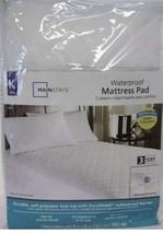 MAINSTAYS WATERPROOF MATTRESS PAD KING SIZE  - $36.44