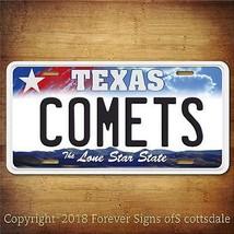 Houston Comets WNBA Basketball Team Texas Aluminum Vanity License Plate - $12.82
