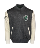 Licensed Harry Potter™ Unisex Slytherin™ Applique Embroidery Baseball Ja... - $54.99