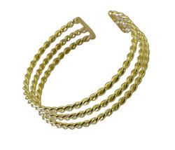comely Plain Gold Plated multi Bangle Fashion jaipur US - $13.16