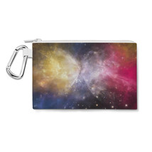 Galaxies Meeting Canvas Zip Pouch - $15.99+