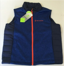 Free Country Boys Hybrid Vest with Sherpa Lining Electric Blue - $19.99