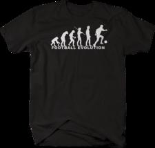 Football Evolution Soccer Futbol Tshirt - $16.71+