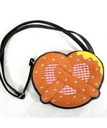 RARE Sleepyville Critters Pretzel with mustard purse handbag German Okto... - $59.88