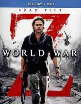 World War Z (Blu-ray, 2013)