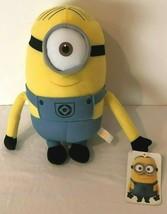 "Despicable Me 2 Stuart One Eyed Minion 10"" Plush Stuffed Toy Universal Studios  - $14.99"