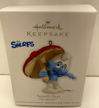 Hallmark Keepsake Christmas Tree Ornament 2012 Smurfy Days The Smurfs Mu... - $7.87