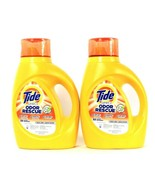 2 Bottles Tide 50 Oz Simply Odor Rescue 32 Loads Fresh Linen Laundry Det... - $31.99