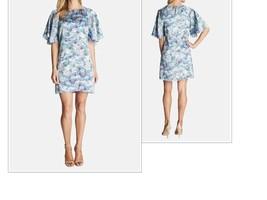 $139.00 CeCe by Cynthia Steffe ' Butterfly Kiss' Print Shift Dress, Size 4 - $48.16