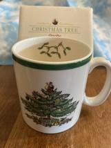 NIB Spode Christmas Tree Mug Made In England - $13.95