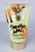 Victoria's Secret Smoothie Wash Squeeze of Pineapple Body Scrub 6 fl oz New - $15.23