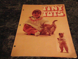 Tiny Tots by Lillian Rather Leisure Arts Leaflet 9 - $2.99