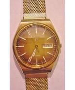 Men's Pulsar Y563-8549 Quartz Watch Brown Graduated Color Scheme Dial Wo... - $49.95