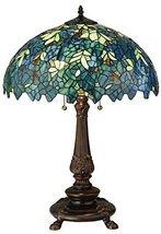 """Meyda Tiffany 124815 Nightfall Wisteria Table Lamp, 26"""" H - $419.40"""
