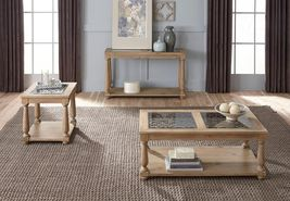 Savannah Collection 207-24-22-27 3-Piece Living Room Table Set with Rect... - $976.99