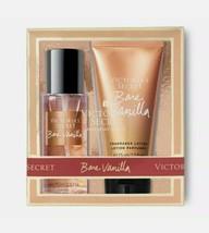 *NEW* VICTORIA SECRET PINK BARE VANILLA 2PC Set Body Mist & Lotion  - $19.99