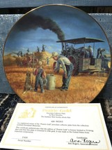 Prairie Gold The Danbury Mint Collector Plate By Mort Kunstler - $19.79