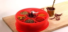 TUPPERWARE Spice It Up Spice Box With Lid & Spo... - $25.25
