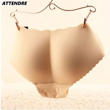 Padded Panties Beige Nice bottom Panties Buttocks Push Up Lingerie Women's - $17.80
