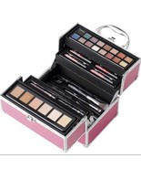 Ulta Shine Brighter Pink Makeup Carry Case 39 PC Gift Set - $99.99