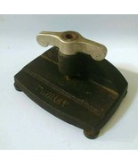 Vintage TWIRLIT Cast Iron Single Hole Punch Duvinage #401 Hagerstown MD USA - $23.10 CAD