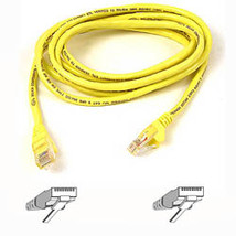 Belkin Cat. 6 UTP Patch Cable 100ft Yellow networking cable 30 m - $130.68