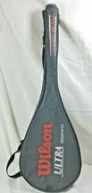wilson ultra graphite squash raquet used with case - $19.34