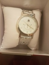 Snowman Watch Holiday Rare Vintage looking Brand New - $67.50