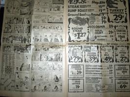 Vintage The Grand Rapids Press Nixon's Supporters Falling & Comics Aug 6 1974 image 5