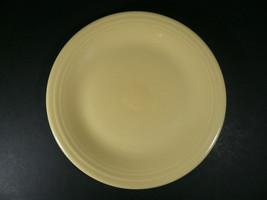 "Fiestaware Homer Laughlin Pale Yellow Dinner Plate 10½"" - $16.00"