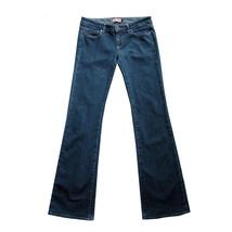 PAIGE Stretch Premium Denim Jeans 28 Low Rise Bootcut Med Wash Laurel Ca... - $19.85