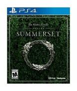 The Elder Scrolls Online: Summerset for PlayStation 4 - $11.87