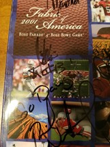 autographed UNIVERSITY OF WASHINGTON  rosebowl program - $17.82