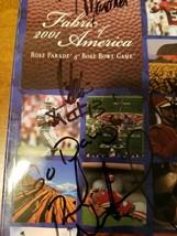 autographed UNIVERSITY OF WASHINGTON  rosebowl program - $17.82