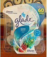 (1) Glade PlugIns Scented Oil Air Freshener Refills Aruba Wave 1.34 Flui... - $19.95